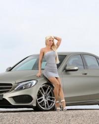 200 HP'lik  Mercedes C-Class