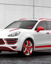 TopCar'dan Red Dragon Cayenne