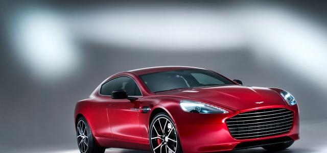 """Performans ve lüks bir arada """"Aston Martin Rapide S"""""""
