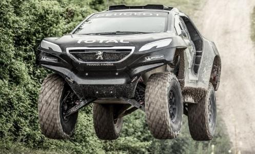 Peugeot 2008 DKR'de cesur teknik seçimler!