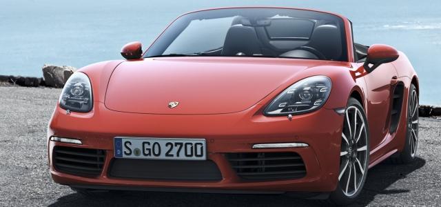 Yeni Porsche 718 Boxster